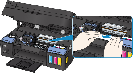 Canon : PIXMA Manuals : G4000 series : Paper Is Jammed inside Printer