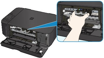 canon manuales de pixma mg3600 series el papel est atascado dentro del equipo. Black Bedroom Furniture Sets. Home Design Ideas