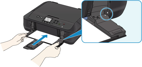 Canon : PIXMA Manuals : MG5700 series : Paper Does Not Feed
