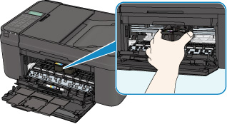 canon pixma manuals mx490 series paper is jammed inside the machine. Black Bedroom Furniture Sets. Home Design Ideas