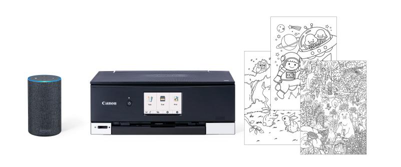 Canon : Inkjet Manuals : Print with Amazon Alexa