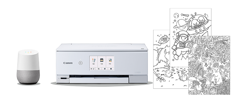 Canon : Inkjet Manuals : Print with the Google Assistant