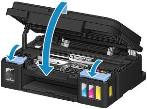 Canon : PIXMA Manuals : G2000 series : Refilling Ink Tanks