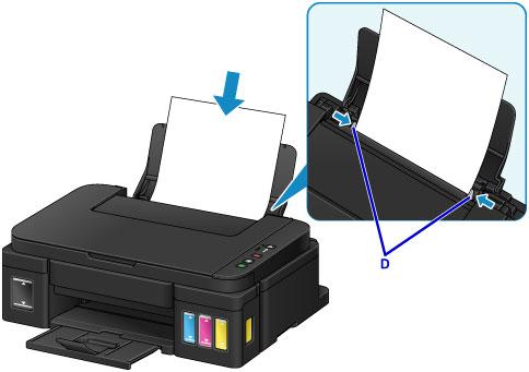 Canon : PIXMA Manuals : G2000 series : Loading Plain Paper / Photo Paper