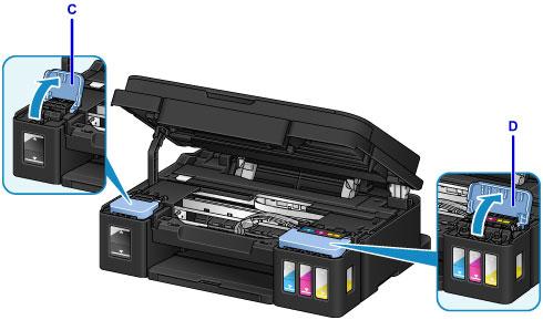 Canon : PIXMA Manuals : G3000 series : Refilling Ink Tanks