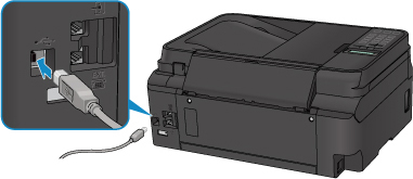 Canon : PIXMA Manuals : G4000 series : Rear View