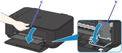 canon pixma manuals mg3600 series replacing a fine cartridge. Black Bedroom Furniture Sets. Home Design Ideas
