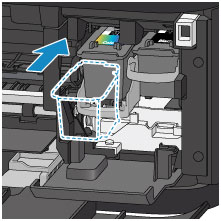 how to change ink in canon mg3600