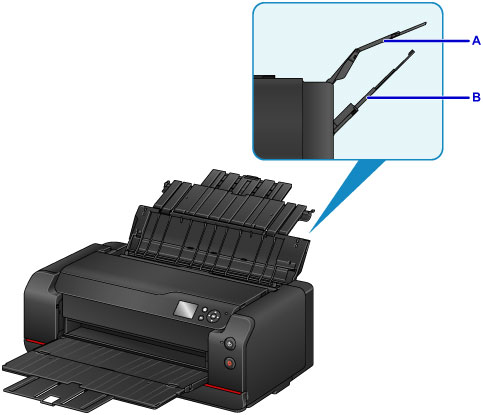 Canon : imagePROGRAF Manuals : PRO-1000 series : Paper Sources to