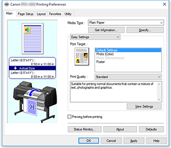 Canon:imagePROGRAF Manuals:PRO-4000:Loading and Printing on