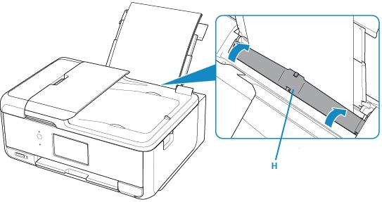 Canon : PIXMA Manuals : TR8500 series : Loading Paper in the