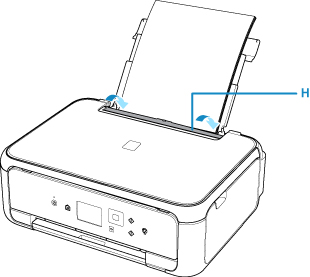 Canon : PIXMA Manuals : TS5100 series : Loading Paper in the