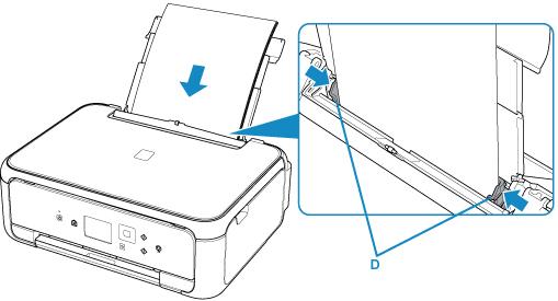 Wonderbaarlijk Canon : PIXMA-handleidingen : TS5100 series : Papier plaatsen in PO-34