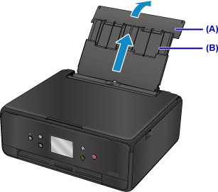 Canon : PIXMA Manuals : TS6000 series : Loading Paper in the