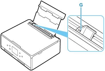 Welp Canon : PIXMA-handleidingen : TS6200 series : Papier plaatsen in JU-87