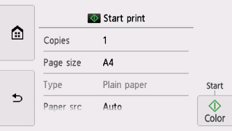 Canon : PIXMA-Handbücher : TS8000 series : Drucken von Vorlagen, wie ...