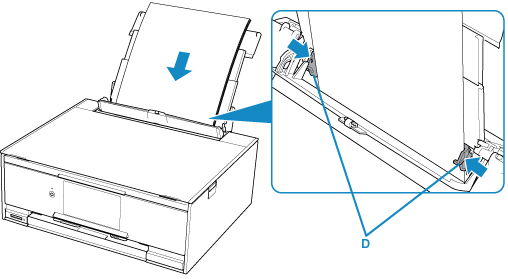 Canon : PIXMA Manuals : TS9100 series : Loading Paper in the