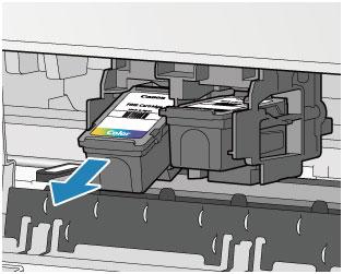 Canon Pixma Manuals E400 Series Replacing A Fine Cartridge