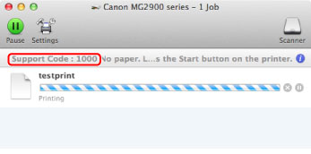 Canon : PIXMA Manuals : MG2900 series : If an Error Occurs