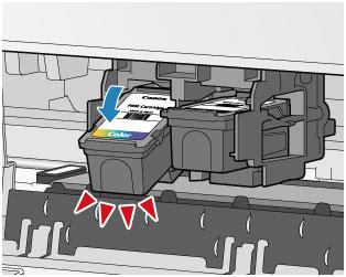 canon pixma handb cher mg2500 series austauschen einer fine patrone. Black Bedroom Furniture Sets. Home Design Ideas
