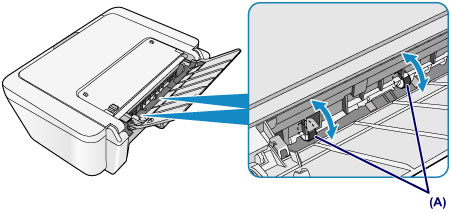 Canon : PIXMA Manuals : MG2500 series : Cleaning the Paper