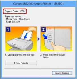 how to fix error 6900 on canon pixma mx976