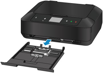 Canon : PIXMA Manuals : MG7500 series : Loading Small Size Paper