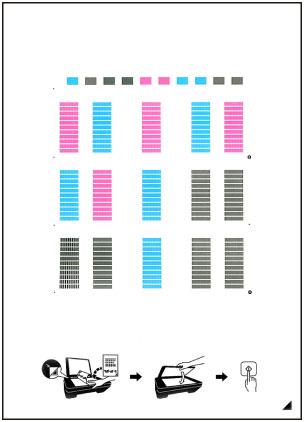 Canon : PIXMA-Handbücher : MX490 series : Ausrichten des Druckkopfs