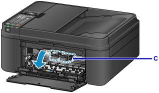 Canon : PIXMA Manuals : MX490 series : Replacing a FINE Cartridge