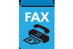 setting up fax machine