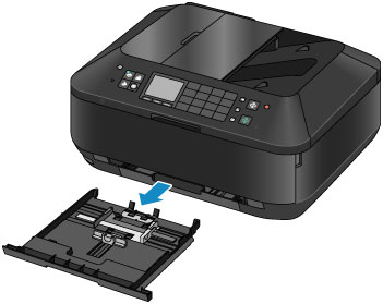 papier richtig in fax einlegen