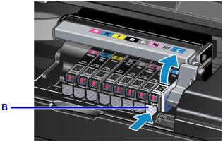 Canon : PIXMA Manuals : PRO-100S series : Replacing an Ink Tank
