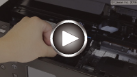 how to change ink canon ts5000