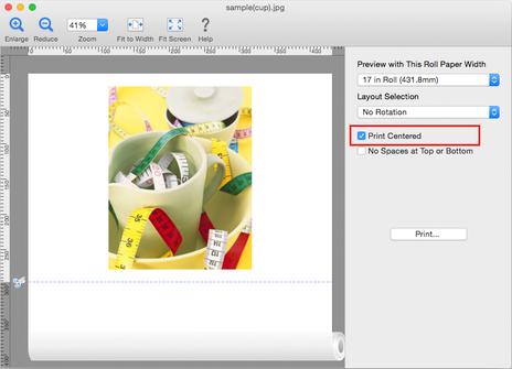 Canon:imagePROGRAF Manuals:Mac OS Software:Preview Guide