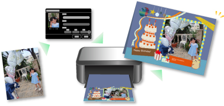 Canon : Manuals : PIXMA TS9120 : Printing Photos Easily